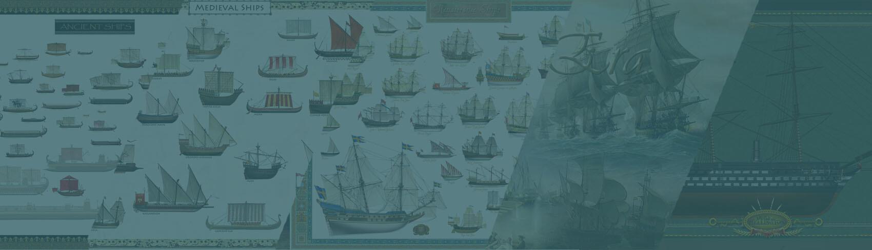 ancient ships roman medieval renaissance enlightenment